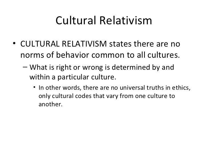 Cultural relativism in business