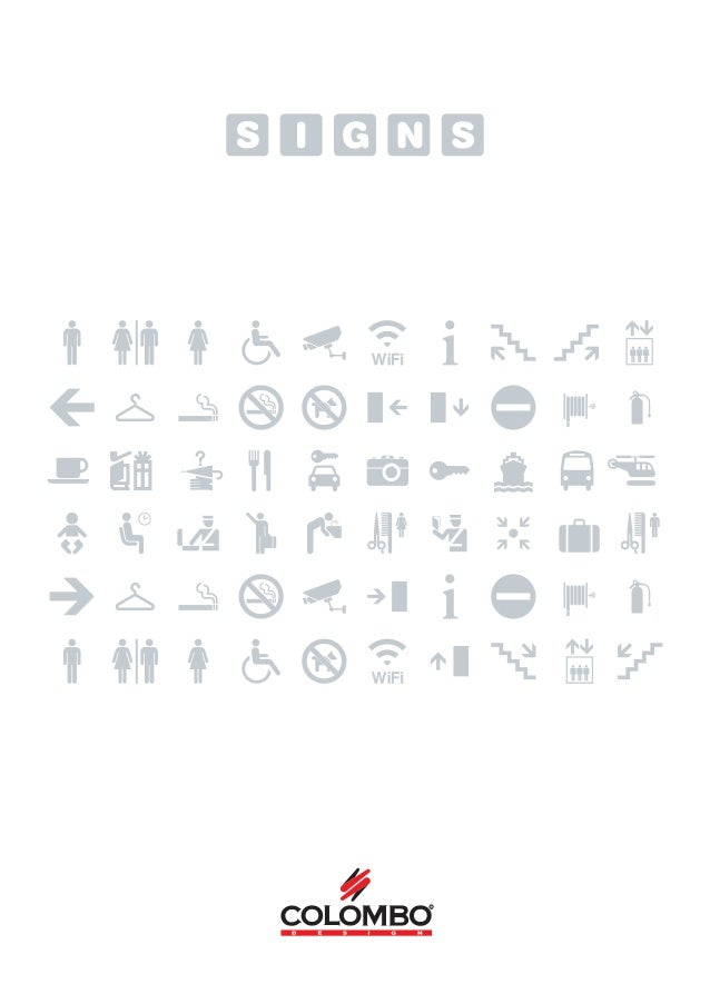Signs Catalogue 01/2013
