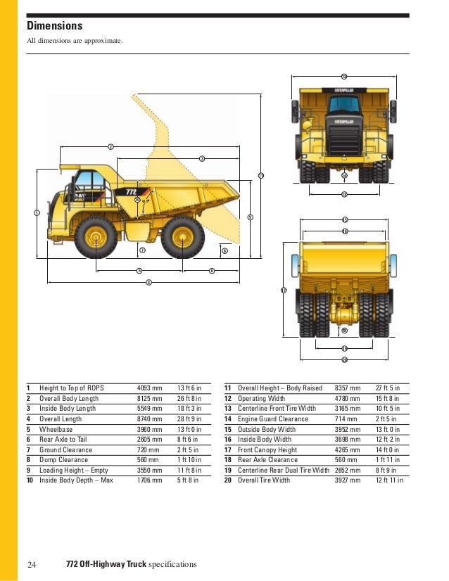 793 haul truck dimensions | mz1300.com - Biggest Pickup Truck-big ...