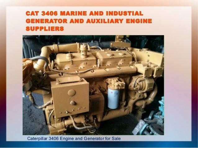 Cat 3406 Diesel Engine And Generator