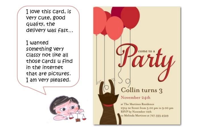 cat birthday party invites