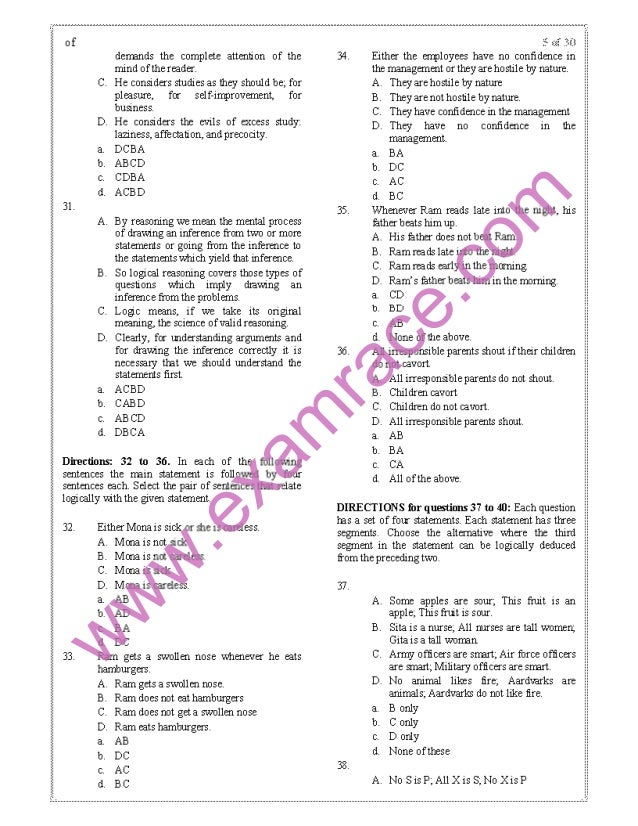 CAT 1998 Previous Year Question Paper with Answer Key