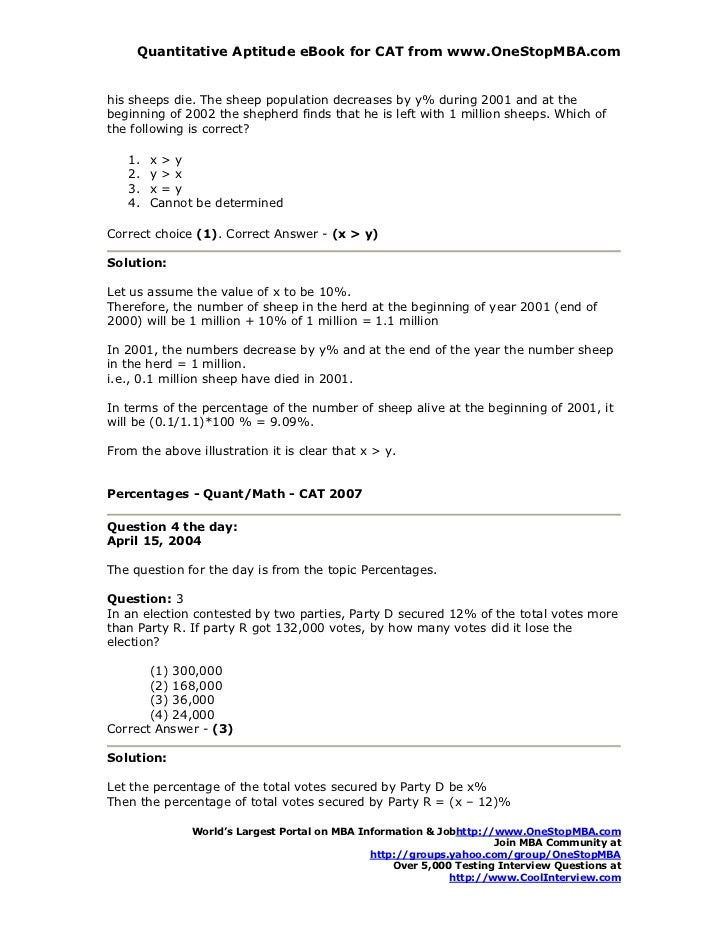 Cat quantitative reasoning math coolinterview 12 quantitative aptitude ebook for fandeluxe Images
