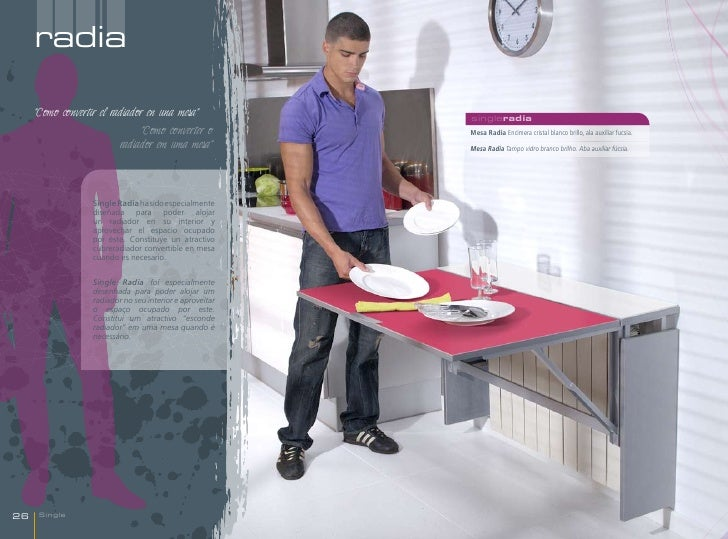 """radia     """"Como convertir el radiador en una mesa""""              singleradia                               """"Como converter ..."""