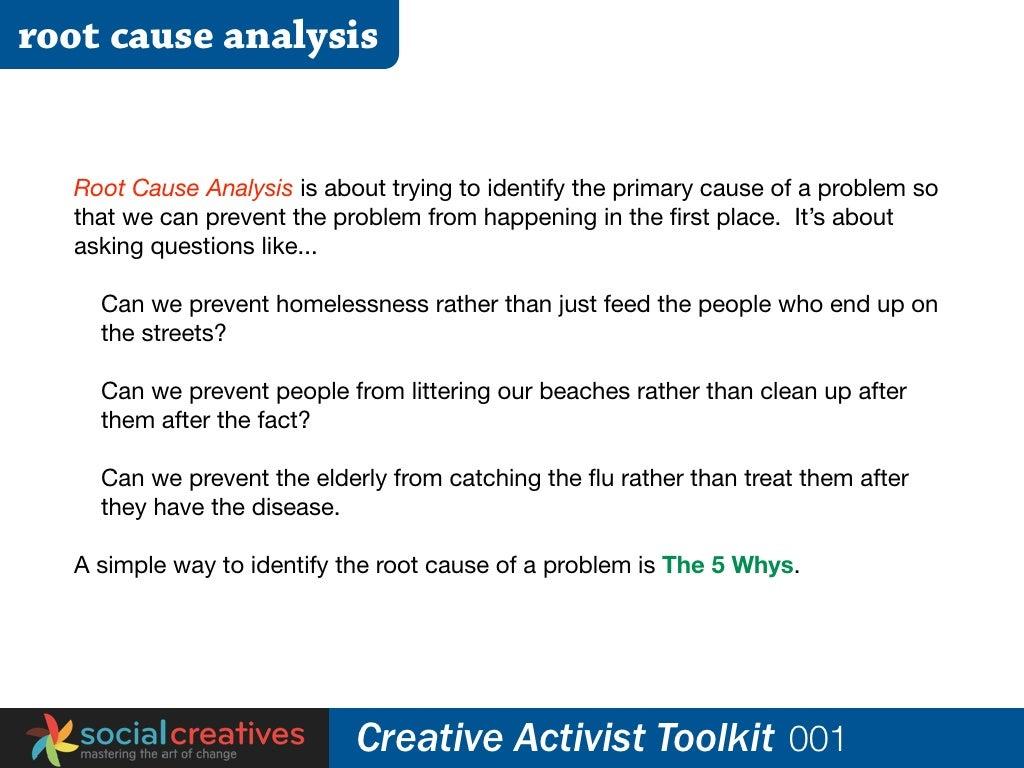 root cause analysis the next