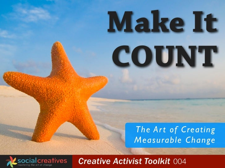 Make It                          COUNT                                  The Ar t of Creating                              ...