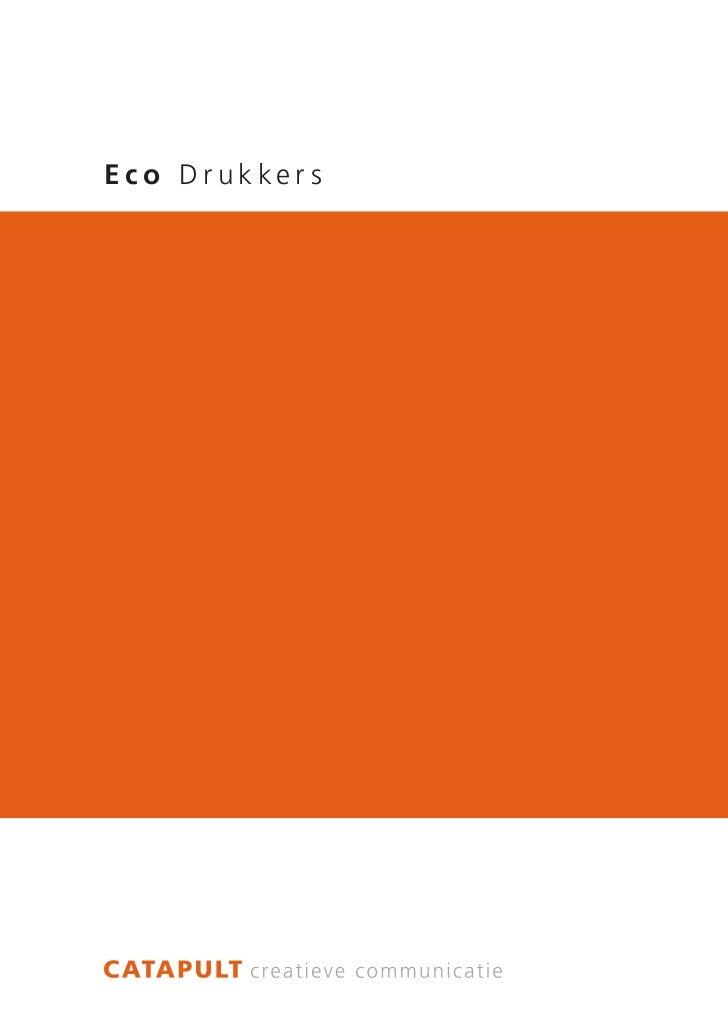 Eco Drukkers