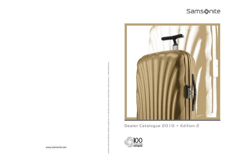 Dealer Catalogue 2010 • Edition 2