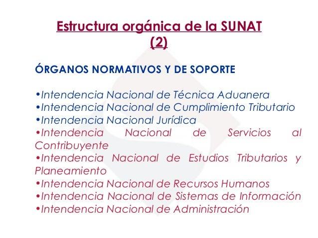 El sistema tributario peruano for Oficina nacional de lucha contra los delitos de odio