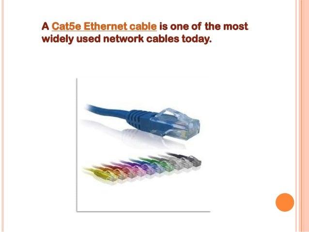 Cat5e ethernet cable Slide 2