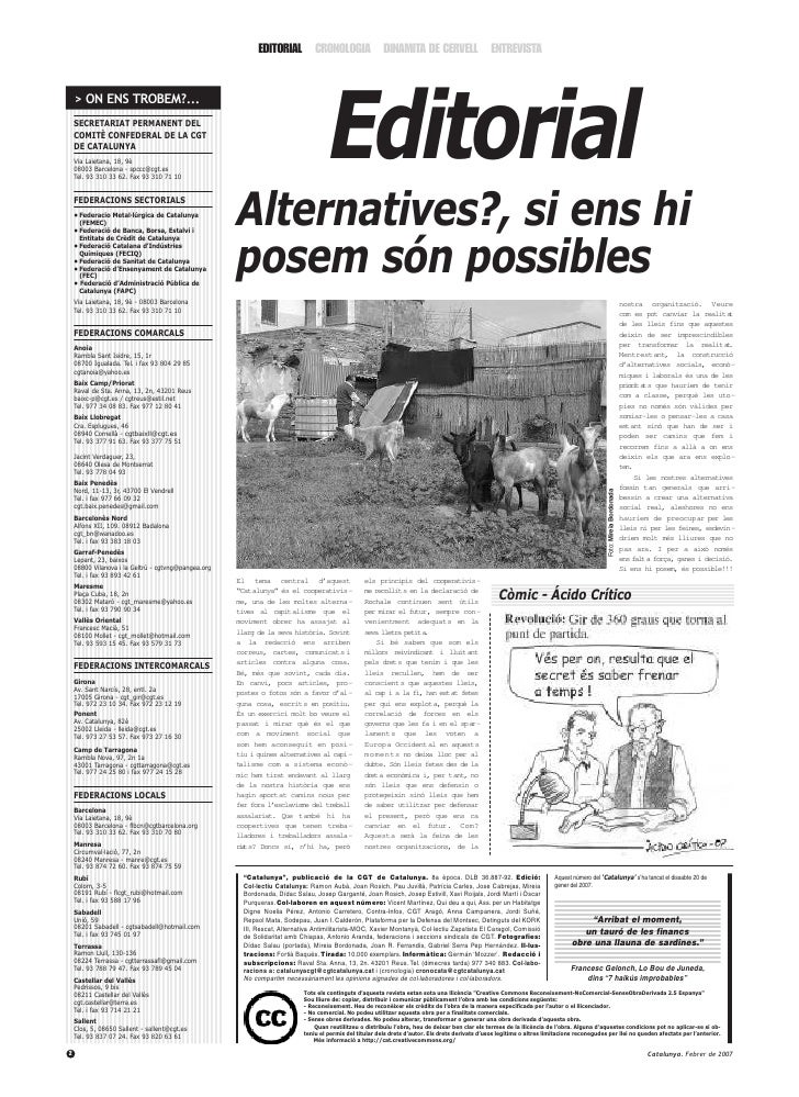 Editorial                                                            EDITORIAL CRONOLOGIA DINAMITA DE CERVELL ENTREVISTA  ...