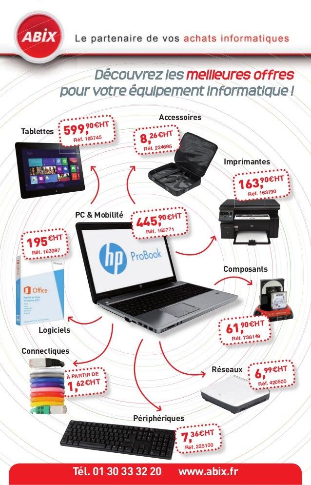 Découvrez les meilleures offres            pour votre équipement informatique !                                          A...