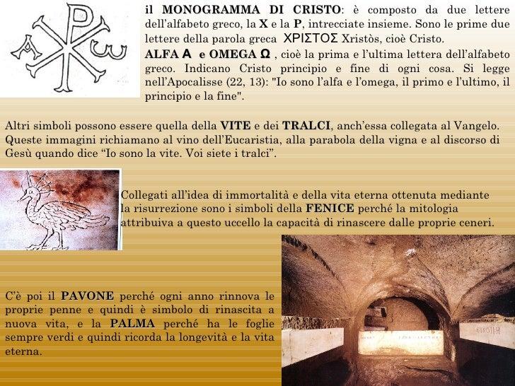 il MONOGRAMMA DI CRISTO: è composto da due lettere                                                         CRISTO         ...