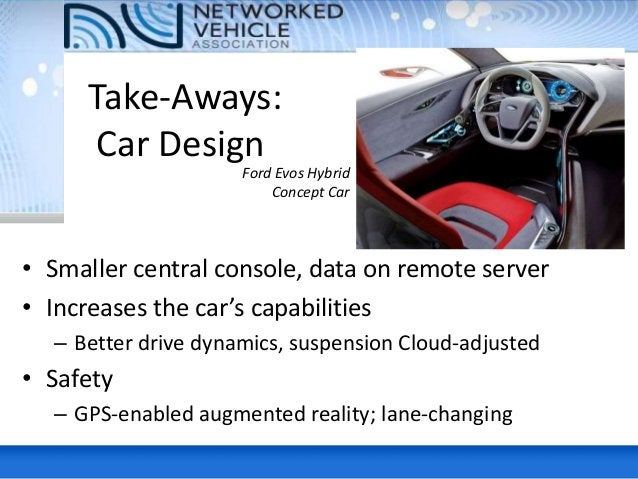 Basics • User interface vital - intuitive – MyFord touchscreen interface hurt quality index • Right content, right time (e...