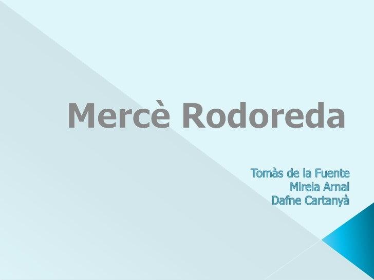Mirall trencat és una novel·la escrita per Mercè Rodoreda. Relata la història d'una família barcelonina de classe alta. La...