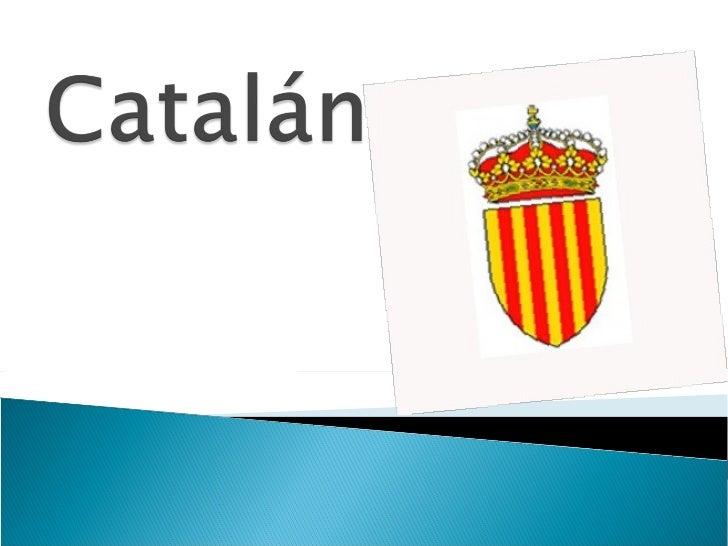 Catalan - Marcos catalan ...