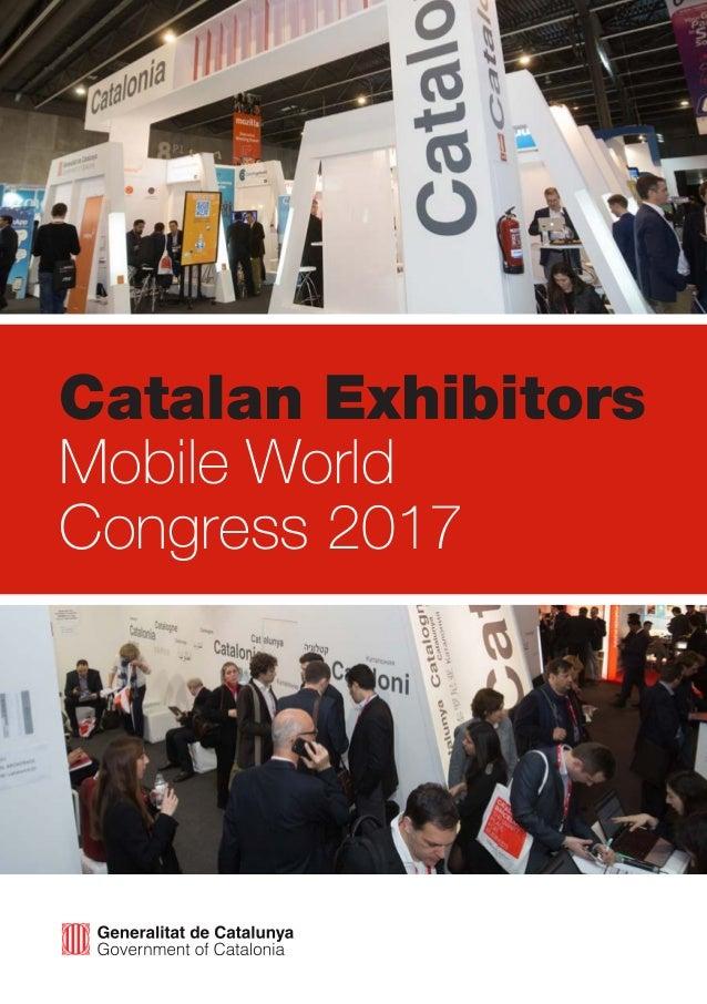 Catalan Exhibitors Mobile World Congress 2017