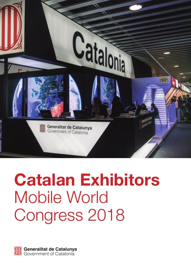 Catalan Exhibitors Mobile World Congress 2018
