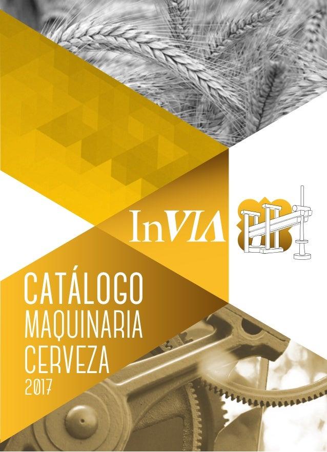2017 catálogo MAQUINARIA CERVEZA
