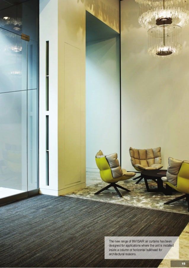 Air Curtains for Recessed or Invisible Installation Catalogue