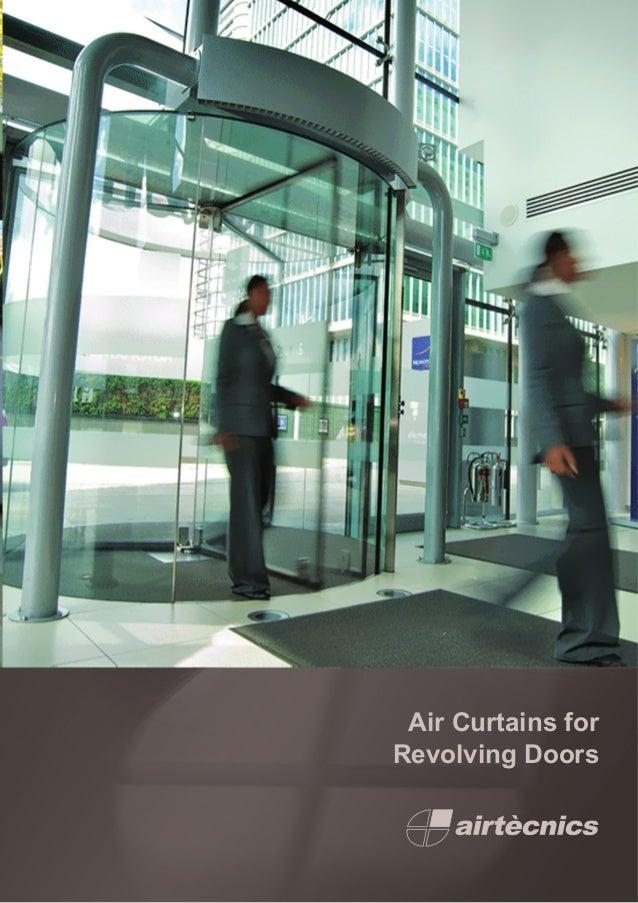 Air Curtains for Revolving Doors ... & Air Curtains for revolving doors Catalogue