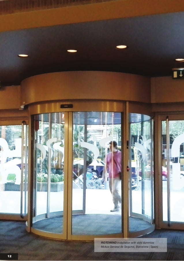 Air Curtains For Revolving Doors Catalogue