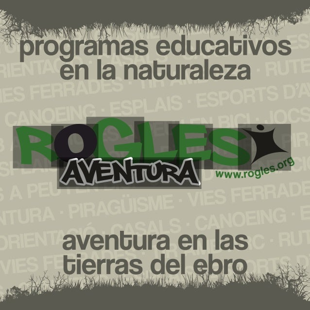 Programa actividades educativas