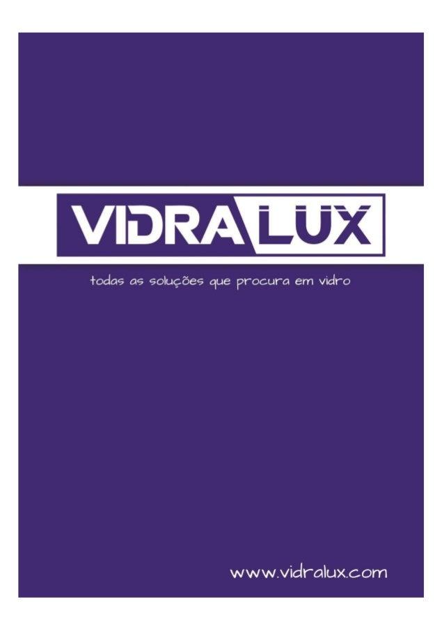Catalgogo vidralux