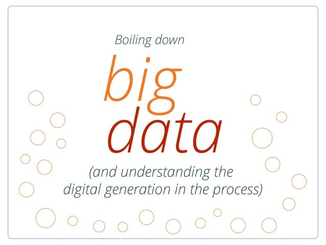 Boiling down big data by Catalin Tenita at ICEEFEST 2013