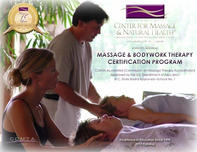 6-Month, 600-Hour  Massage & Bodywork Therapy Certification Program COMTA Accredited (Commission on Massage Therapy Accred...