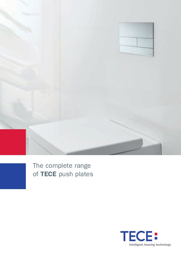The complete rangeof TECE push plates