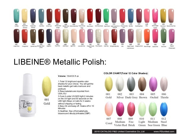 Catalog Of Gel Nail Polish And Other Nail Art Products