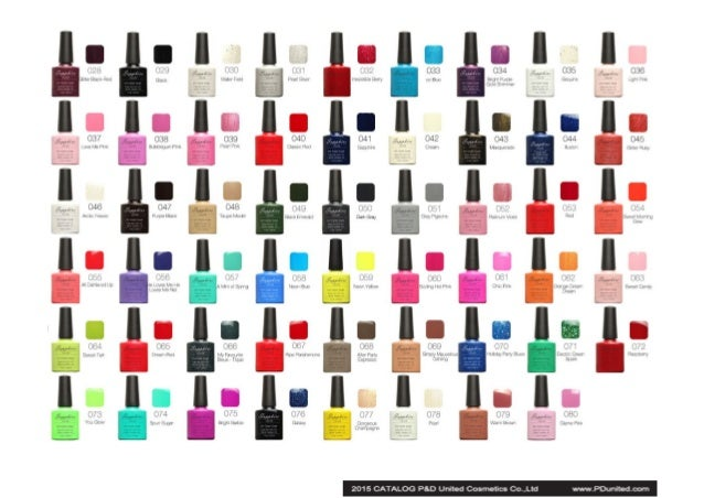 Catalog of gel nail polish and other nail art products 4 prinsesfo Gallery