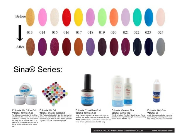 Catalog of gel nail polish and other nail art products 6 prinsesfo Gallery