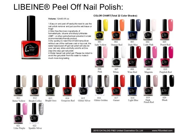 Catalog of gel nail polish and other nail art products 7 libeine peel off nail prinsesfo Gallery