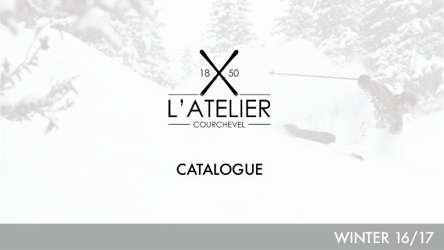 d9d0c64e2a077 L ATELIER 1850 - PRODUCT CATALOG WINTER 2016 17