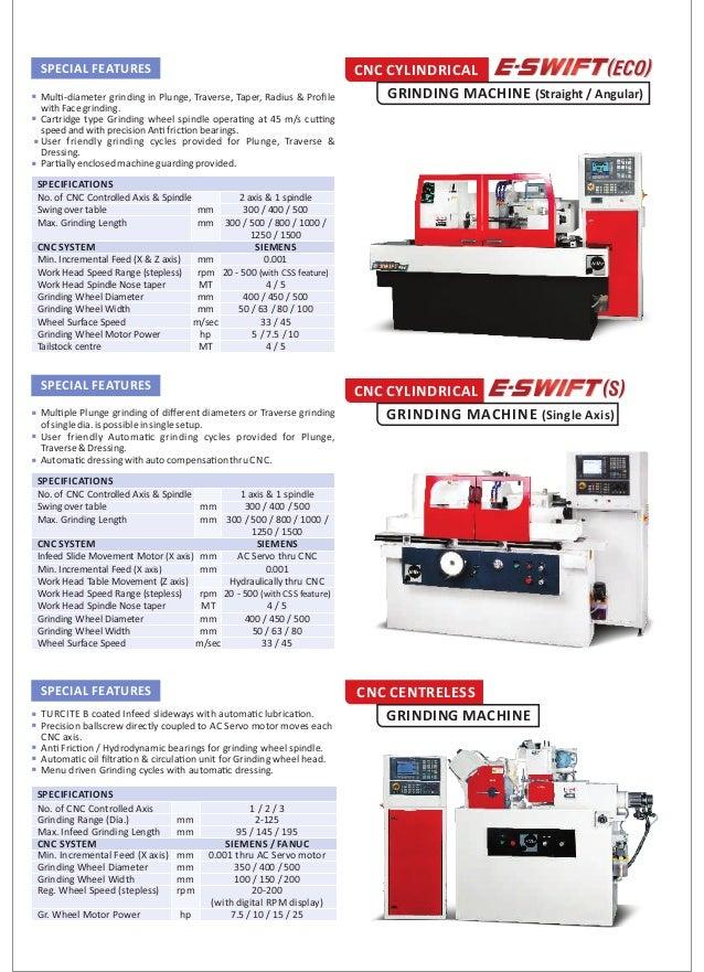 Internal bore grinding machine