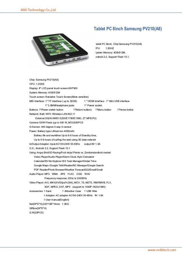 Catalog of tablet PC and netbook supplier manufacturer factory of chi…