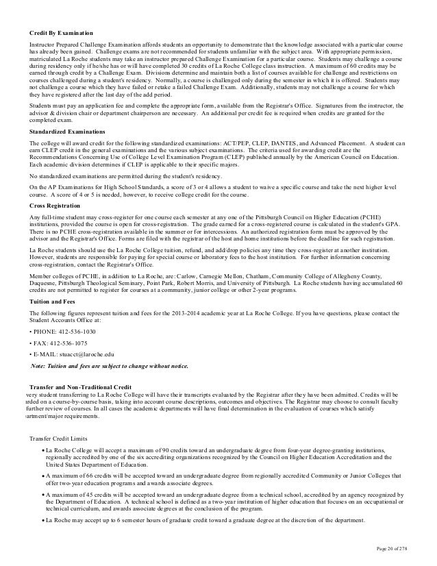 La Roche Catalog 2015-16