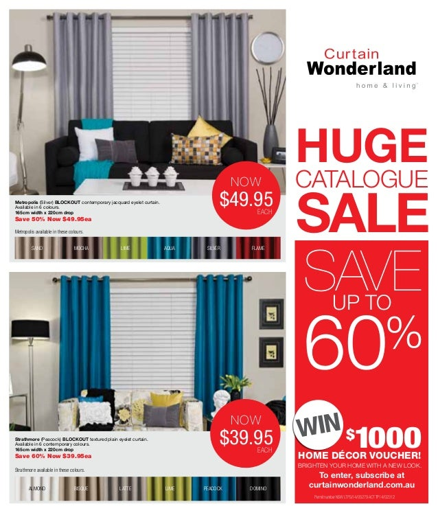 Curtains Ideas curtain wonderland : Catalog curtain-wonderland hugecataloguesale