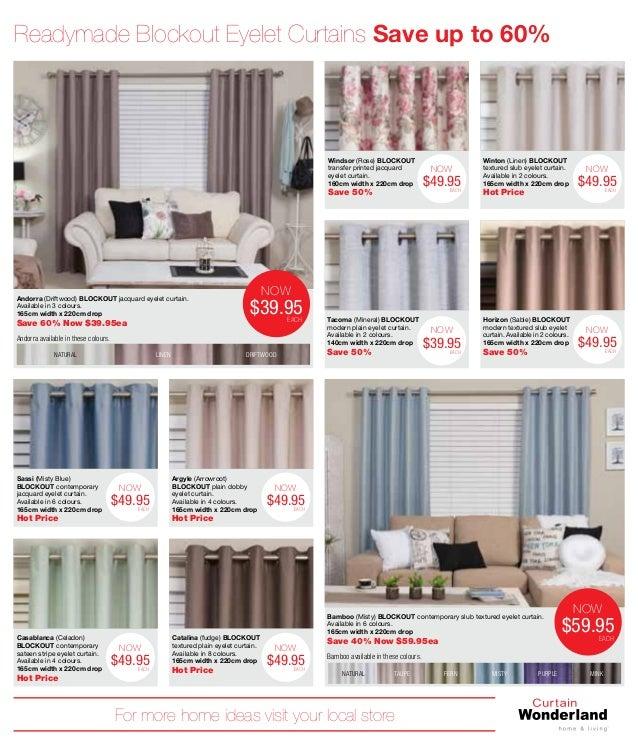 Curtains Ideas curtain wonderland : Catalog curtain-wonderland hugecataloguesale