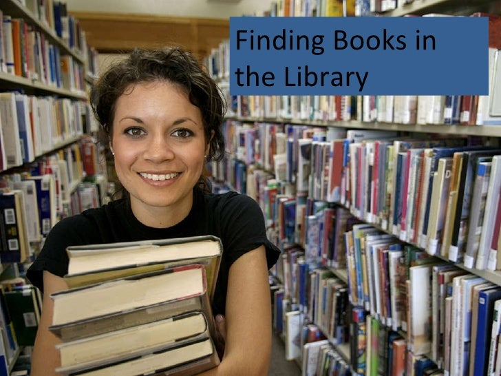Finding Books in the Library