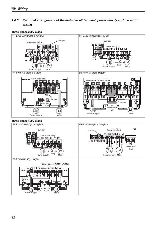[DIAGRAM_1CA]  Catalog Inverter FR-E700 instruction manual (basic) Mitsubishi-Beetec…   Wiring Diagram Inverter Mitsubishi      SlideShare