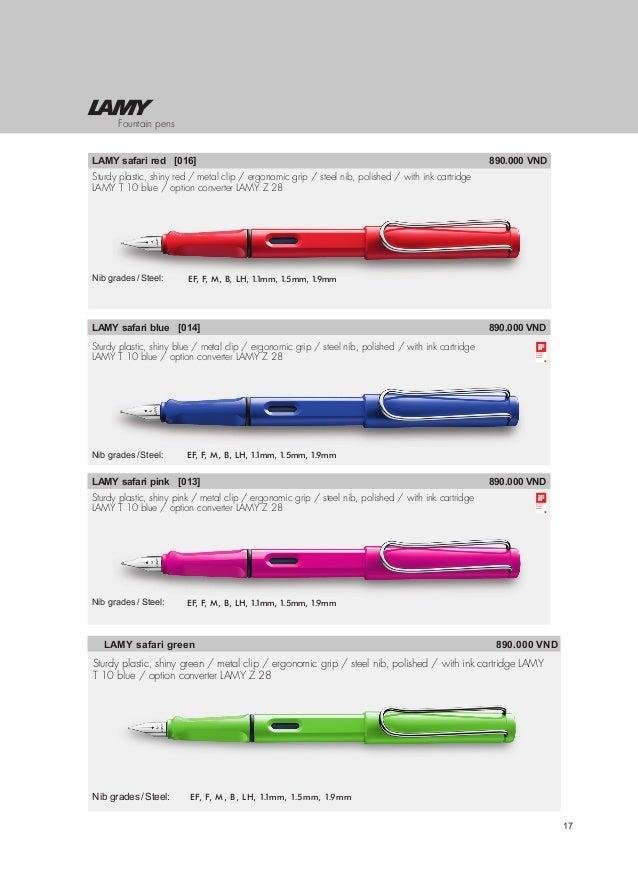 Z24 Converter B Nib Vista Lamy Safari Fountain Pen 12