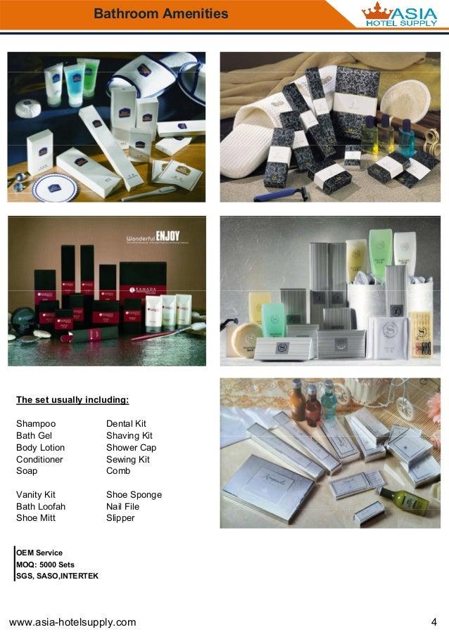 Asia Hotel Supply Catalog 2016 2017
