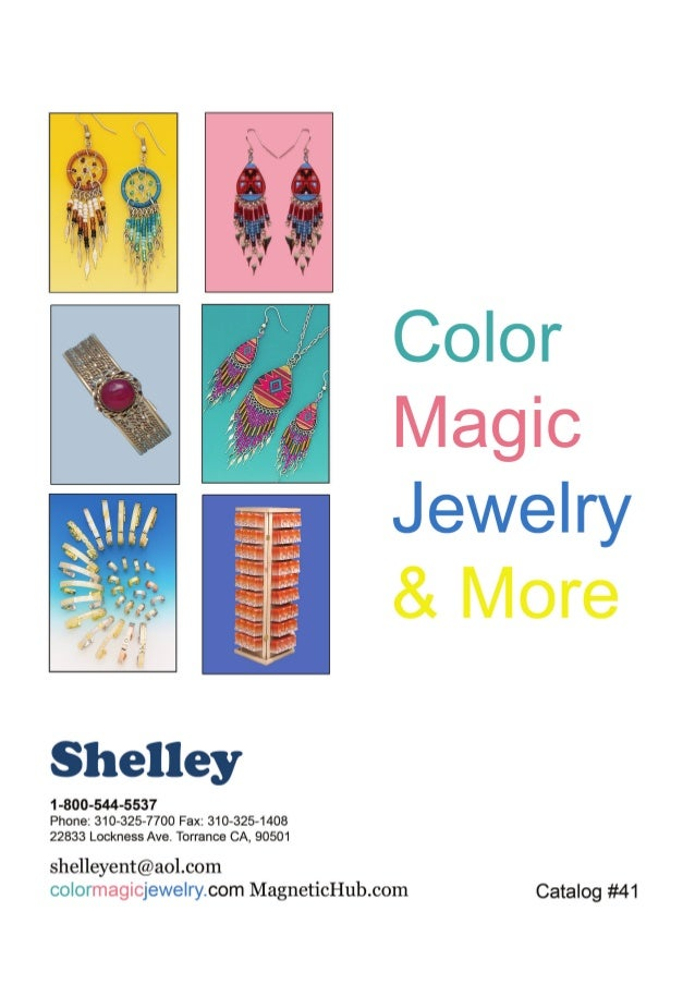 COLOR MAGIC JEWELRY CATALOG 2016