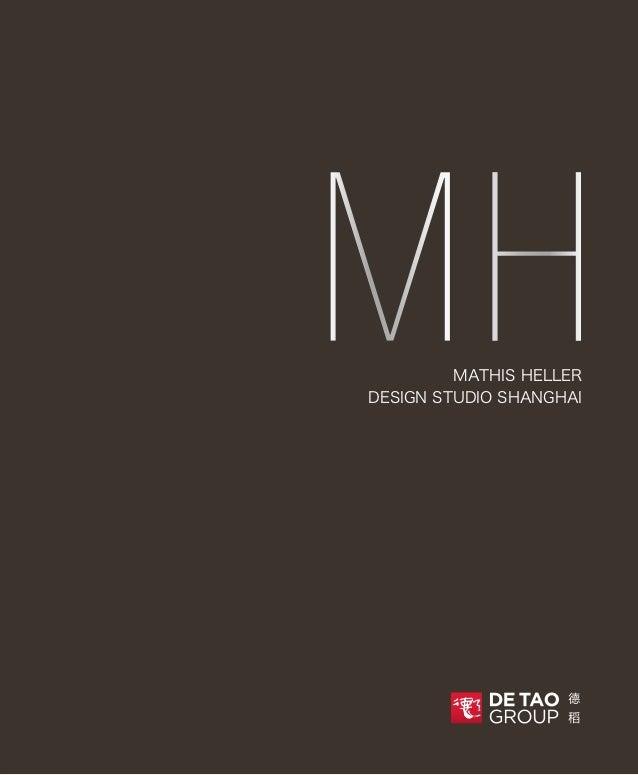 MATHIS HELLER DESIGN STUDIO SHANGHAI MH