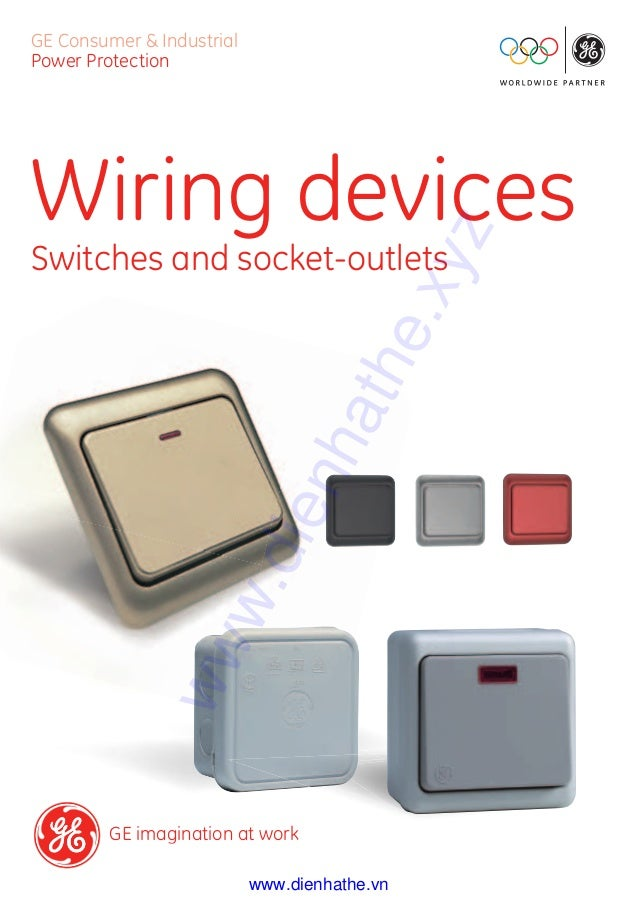 cataloge ge 6 wiring devices dienhathe com 1 general catalogue rh slideshare net ge wiring devices plant cranston ri ge wiring devices plant cranston ri