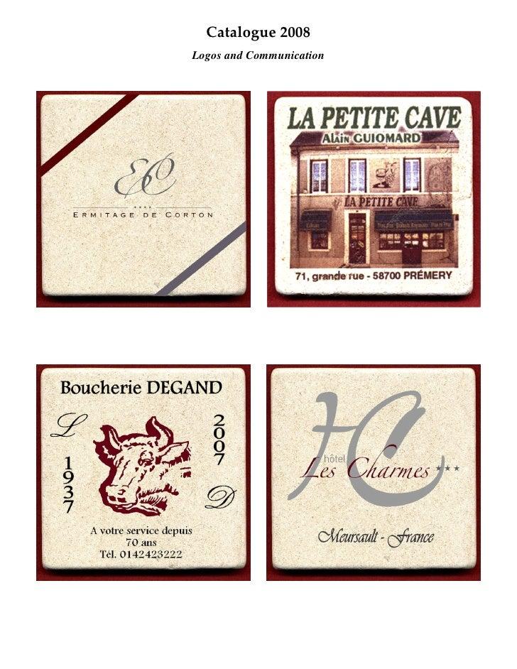 Catalogue 2008 Logos and Communication