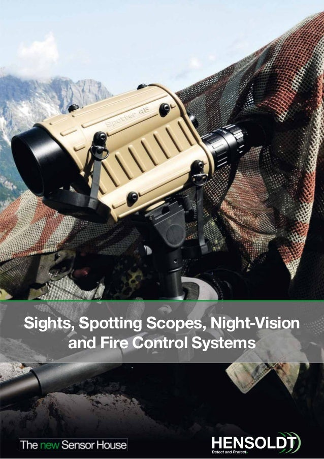 Sights, Spotting Scopes, Night-Vision and Fire Control Systems
